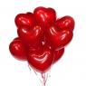 Шары №47 Большие сердца (17 дюймов) поштучно