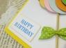 Открытка дизайнерская №17 С Днем Рождения