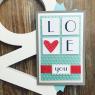 Открытка дизайнерская №11 Любовь