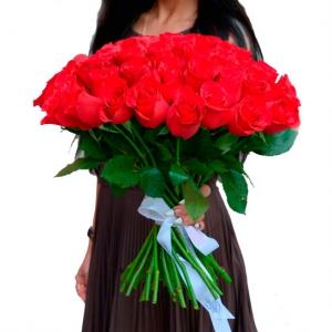Букет из 51 эквадорской красной розы