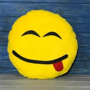 Подушка Смайлик с улыбкой