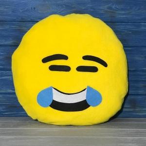 Подушка Смайлик смеющийся