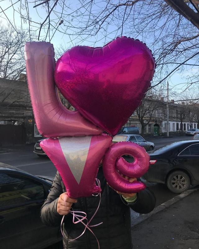 Шары №38 Огромный шар LOVE