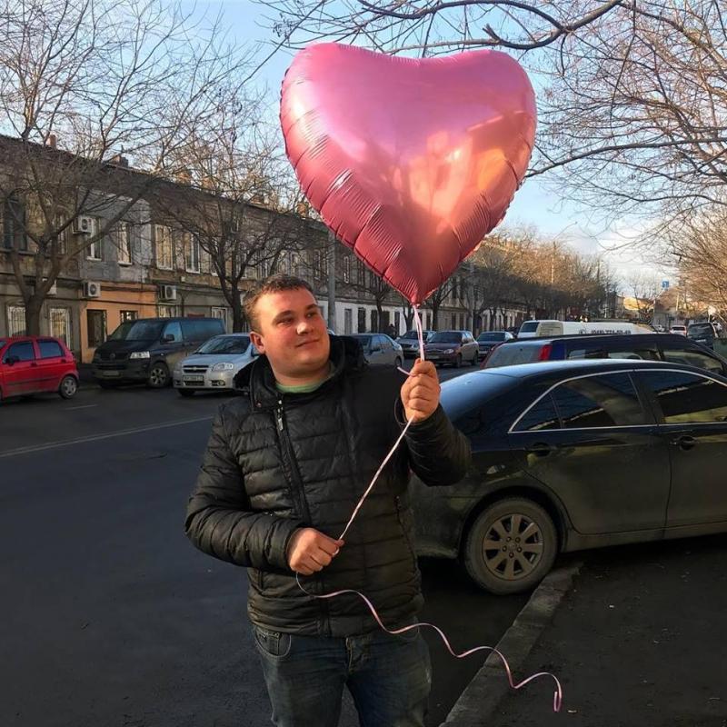 Шары №37 Огромное сердце