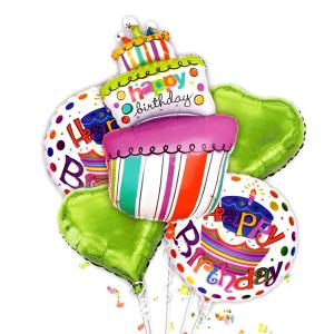 Шары №42 Набор С днем рождения