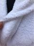 Белый махровый халат (унисекс)