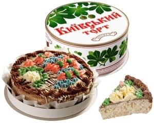 Торт Киевский 0,5 кг