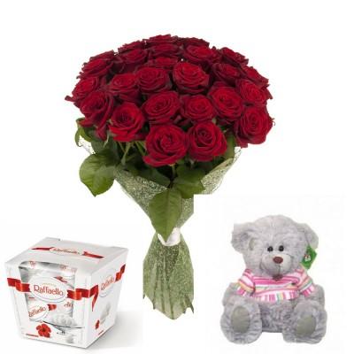 Прекрасный набор с розами